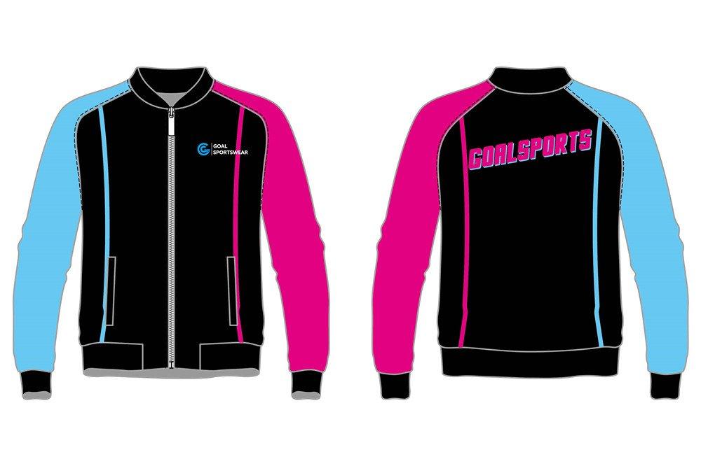 custom full zipper basketball jackets