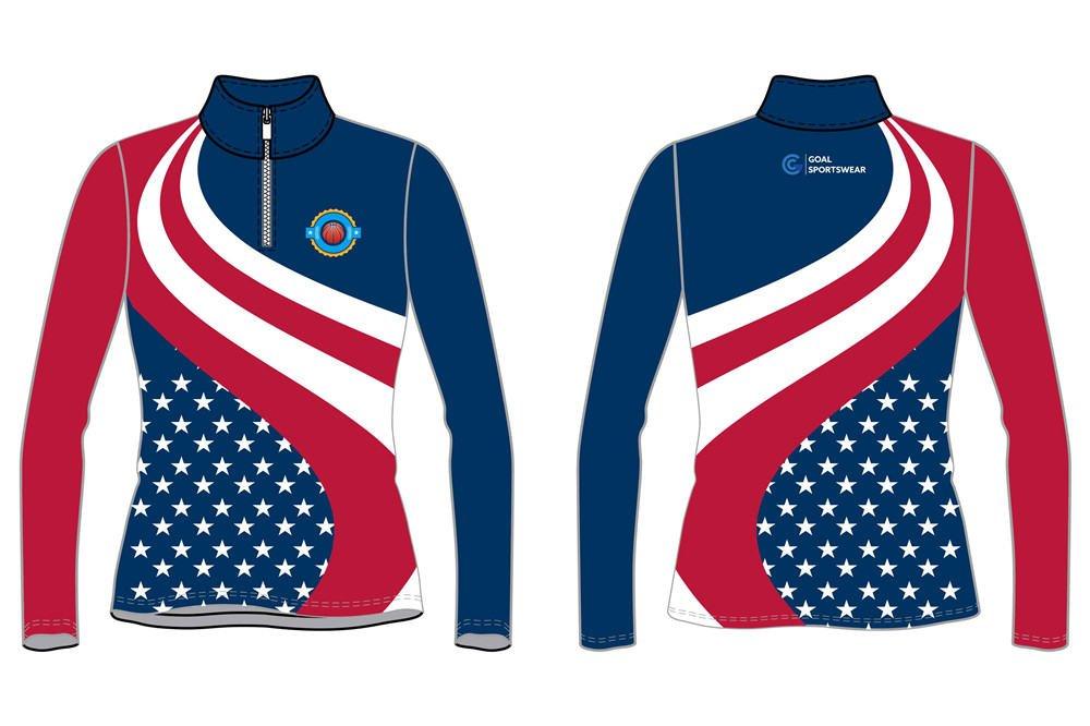 custom girls basketball jackets