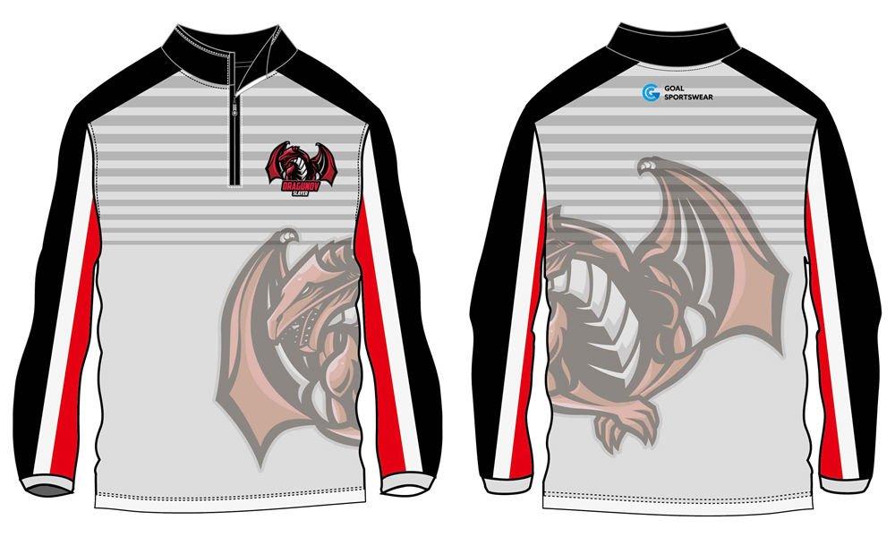 custom high quality 1_4 zipper baseball jackets