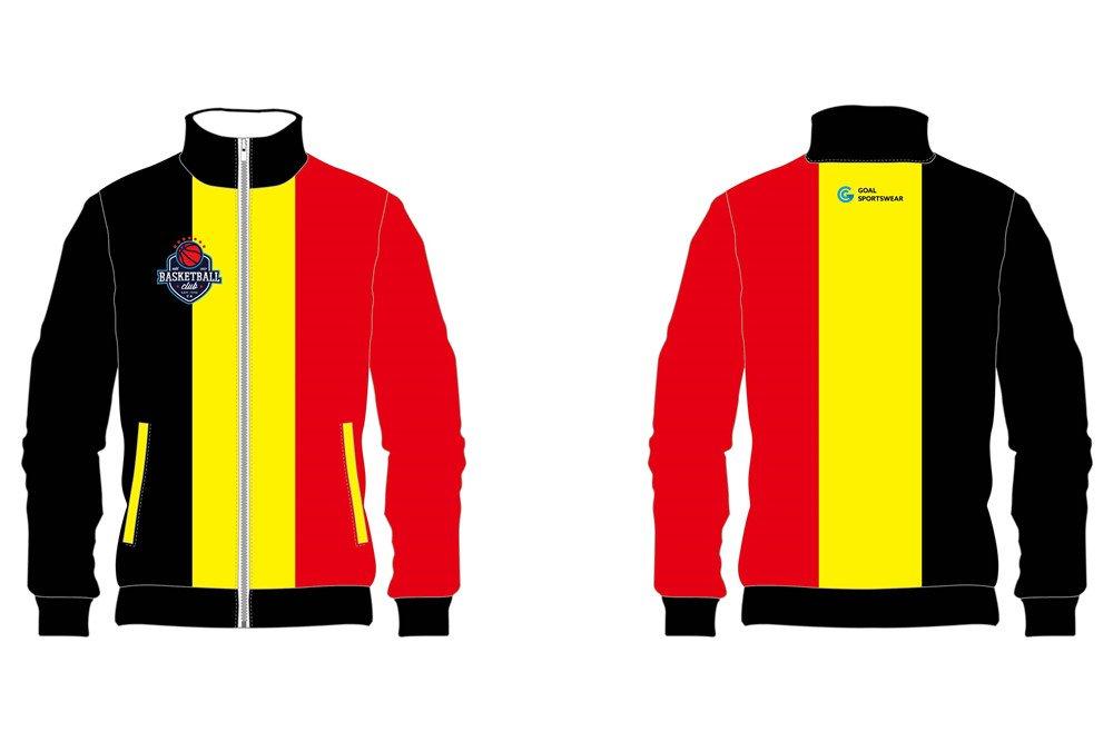 custom sublimation basketball jackets