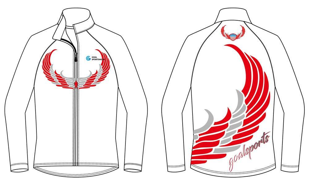 custom white blank baseball jackets