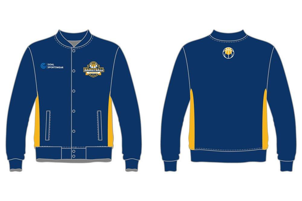 custom youth team basketball jackets