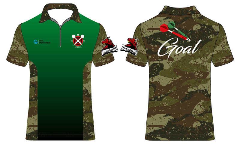 Sublimated dirt shirt