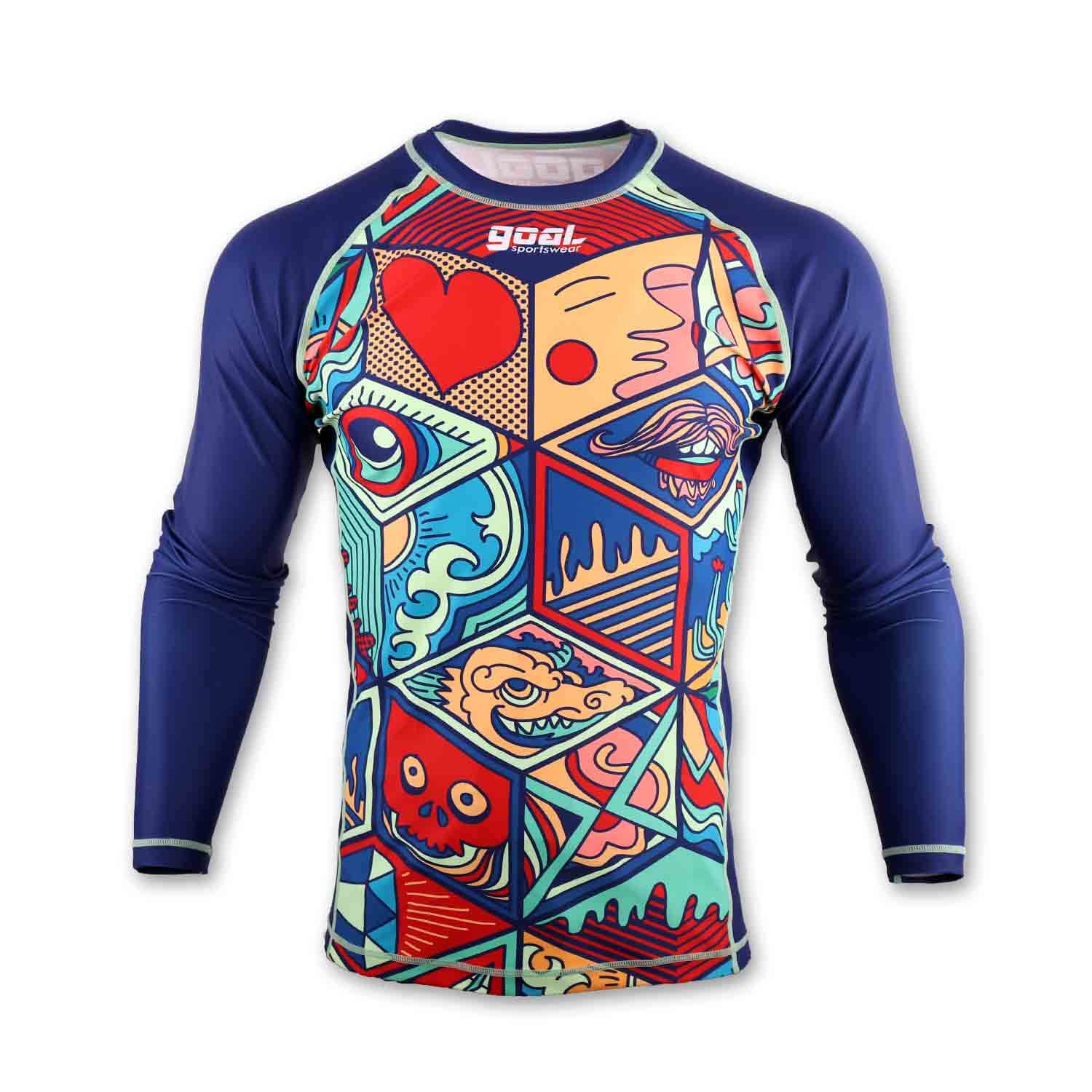 Sublimated Rash Guards
