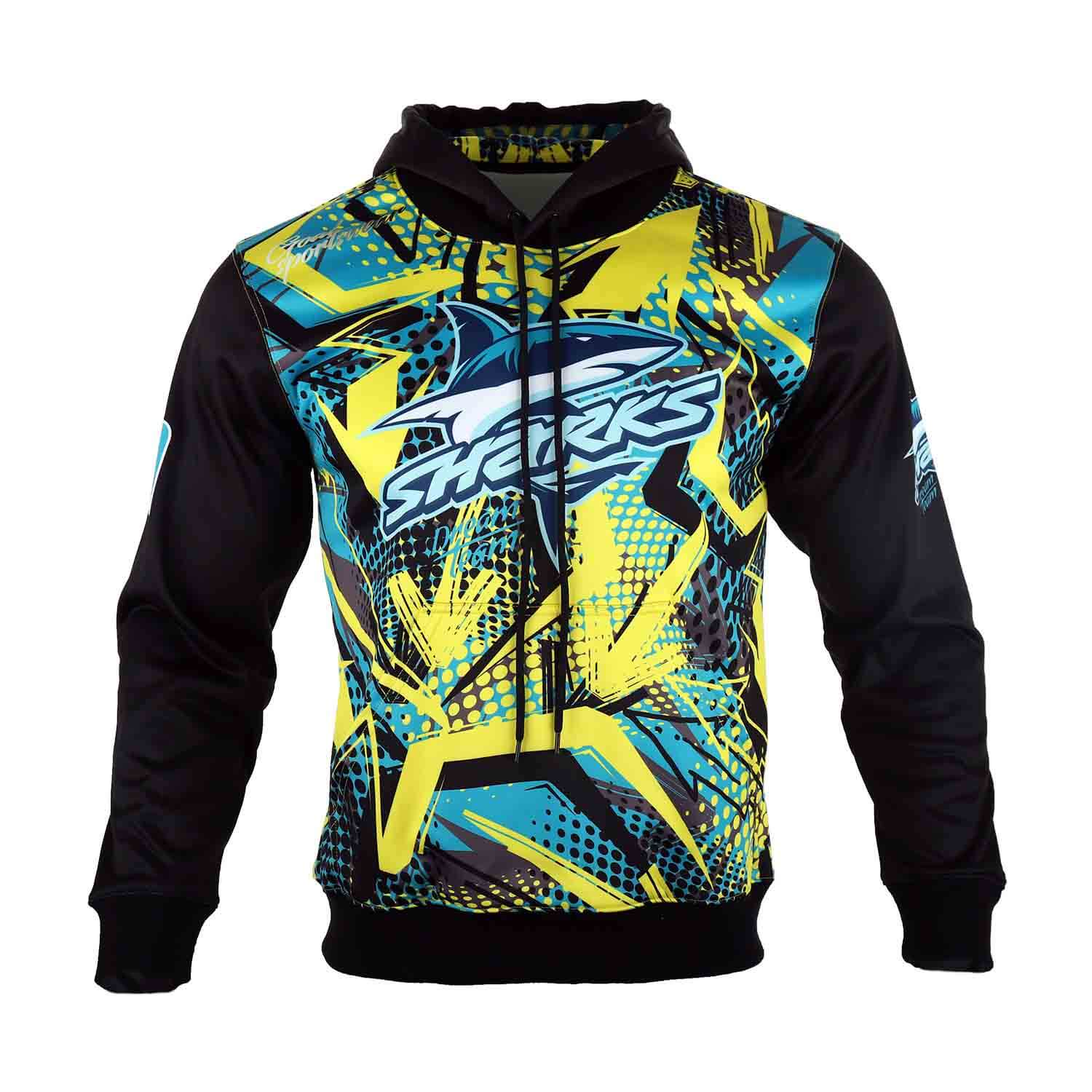 1-Sublimated Pull Over hoodie