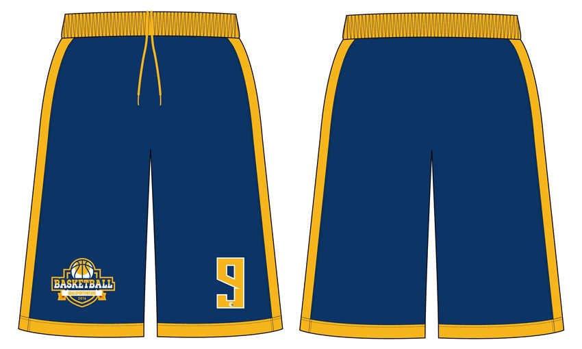 100% polyester sublimation mens custom basketball shorts