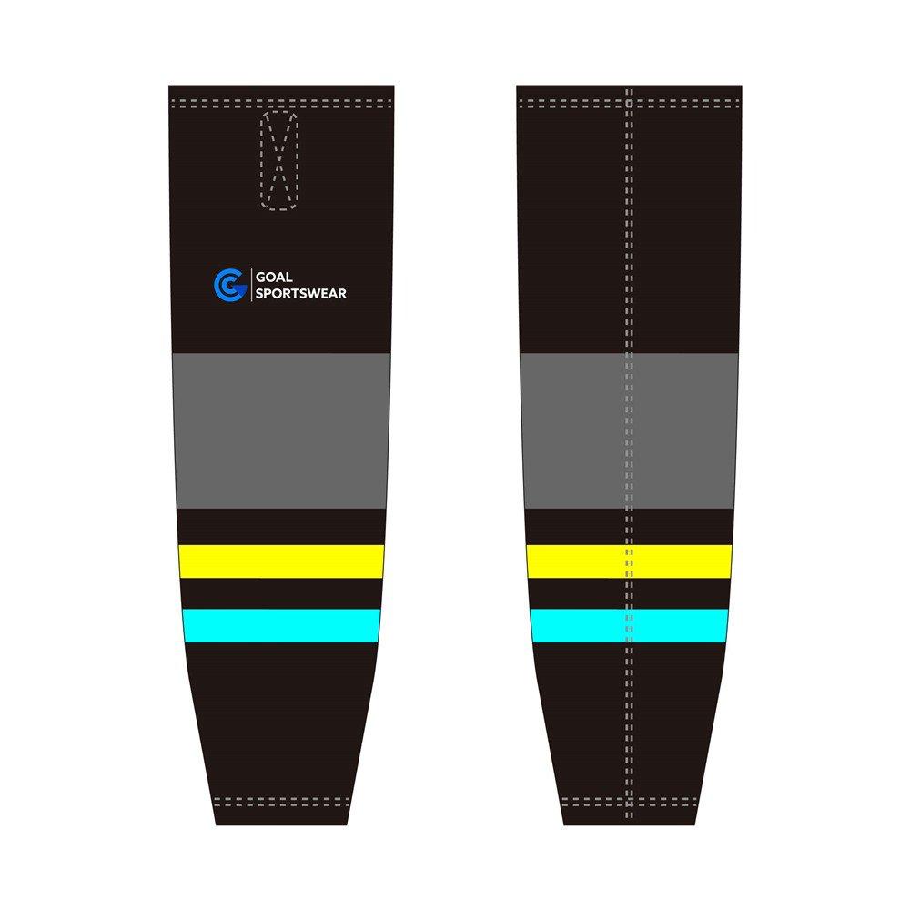 100% polyester sublimation mens custom hockey socks