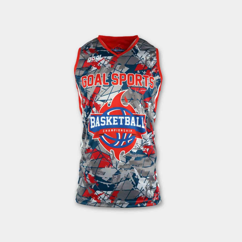 100% polyester sublimation mens custom reversible basketball jerseys