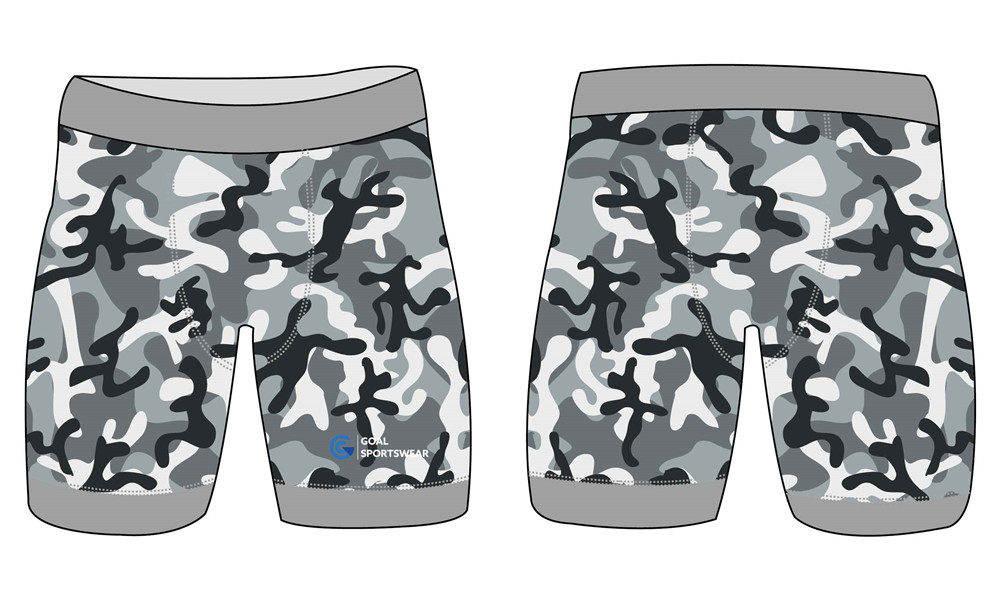 100% polyester sublimation mens custom wrestling shorts