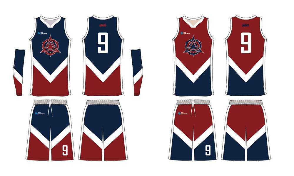 100% polyester sublimation printing custom youth team reversible basketball jerseys