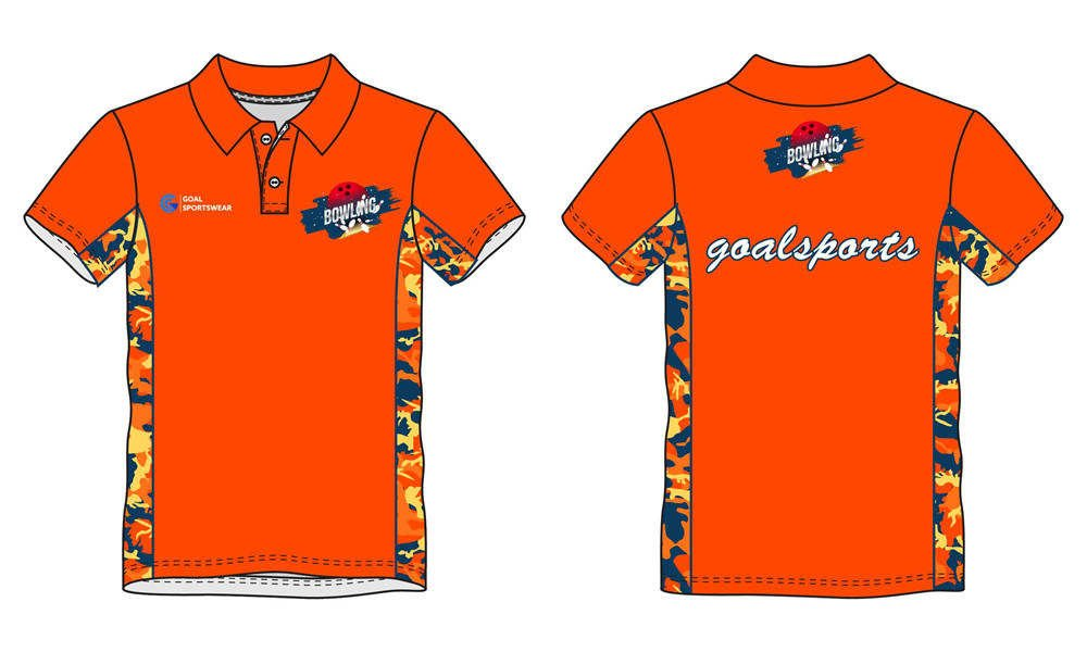 Custom design sublimation printing breathable reversible bowling jerseys