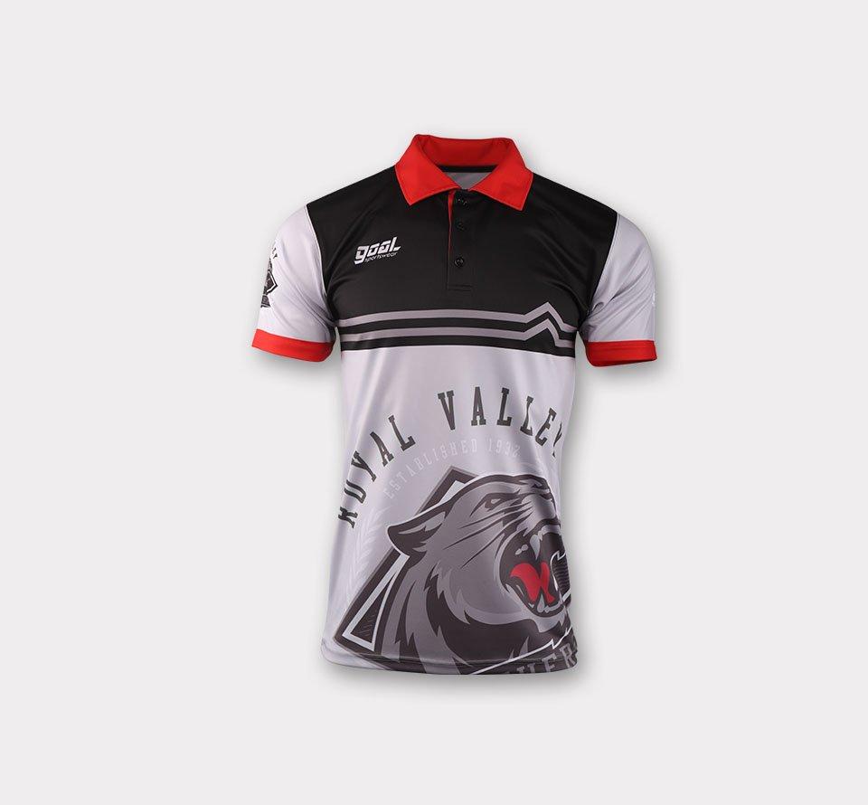 Custom wholesale sublimated printed bowling jerseys