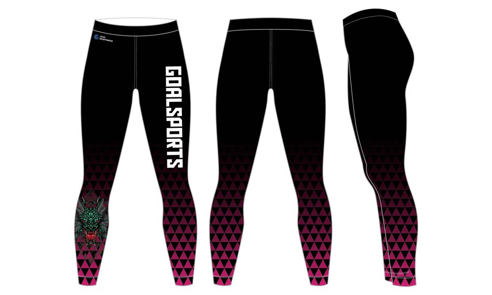 Custom wholesale sublimated printed mens compression pants