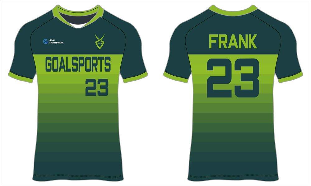 Custom wholesale sublimated printed soccer shirts