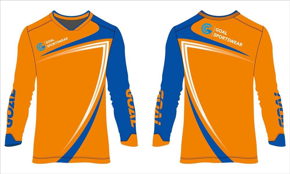 Dye sublimation custom design team soccer shirts