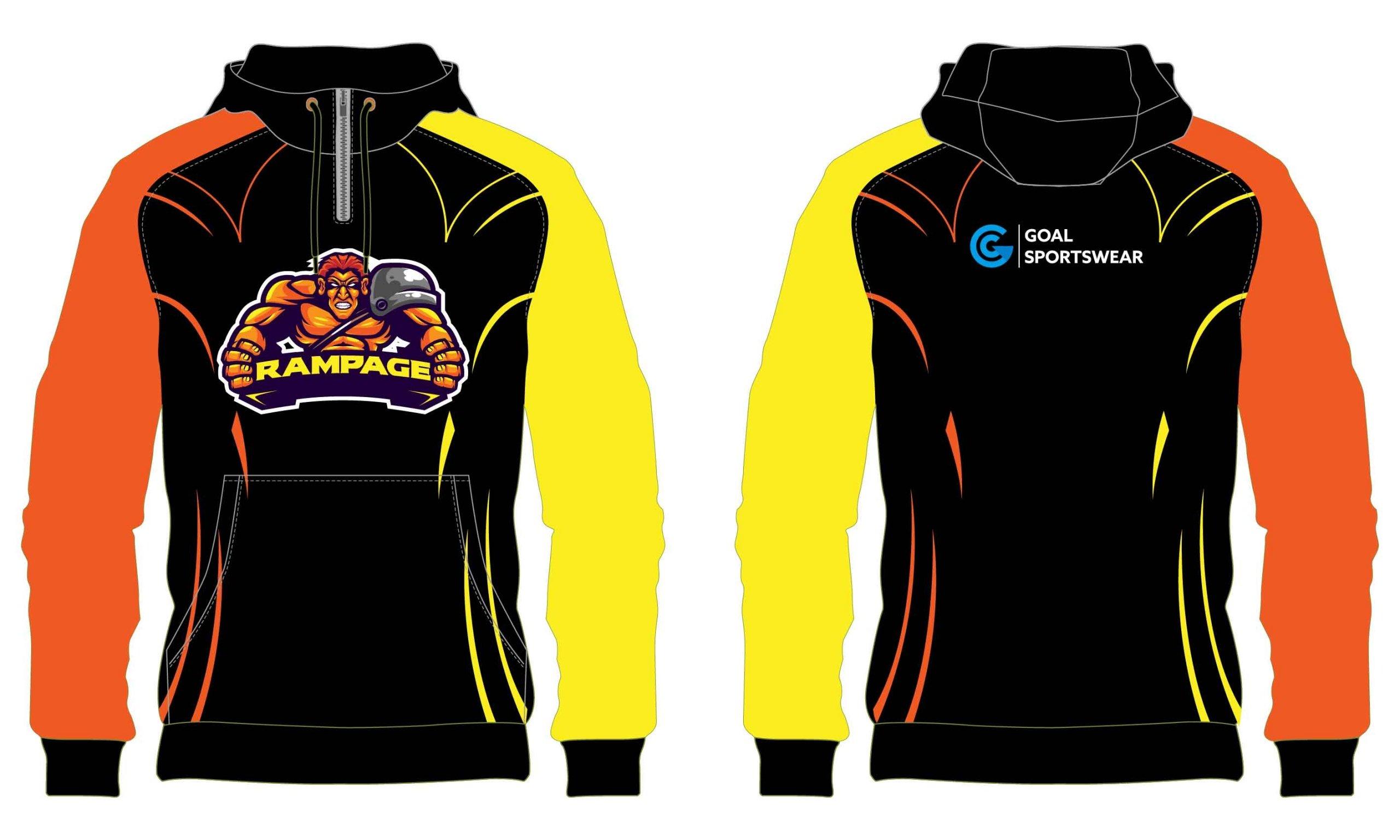 Dye sublimation custom design team wrestling hoodies
