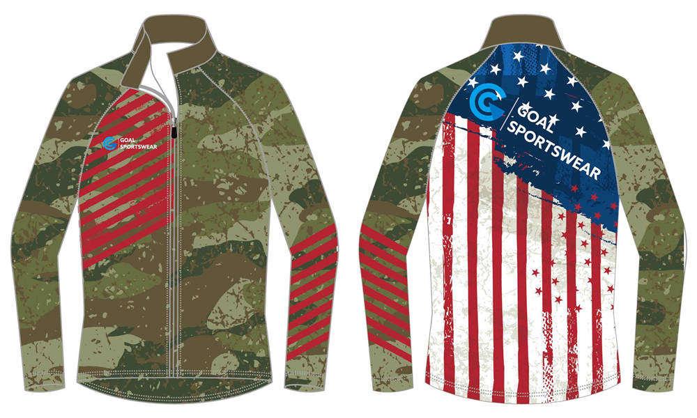 Dye sublimation custom design team wrestling jackets