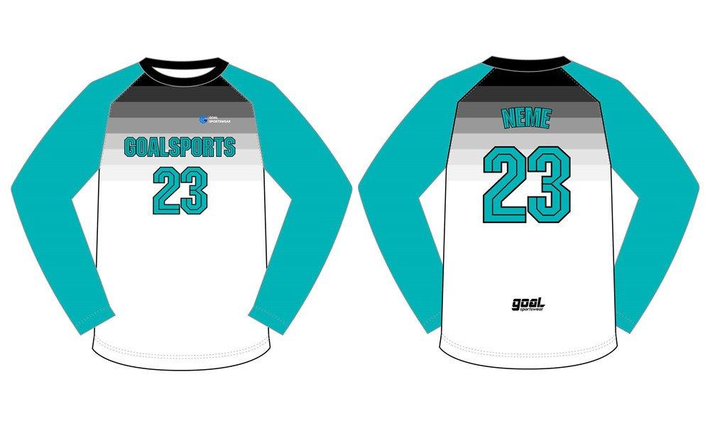 Dye sublimation printing Custom design youth basketball shooting shirts
