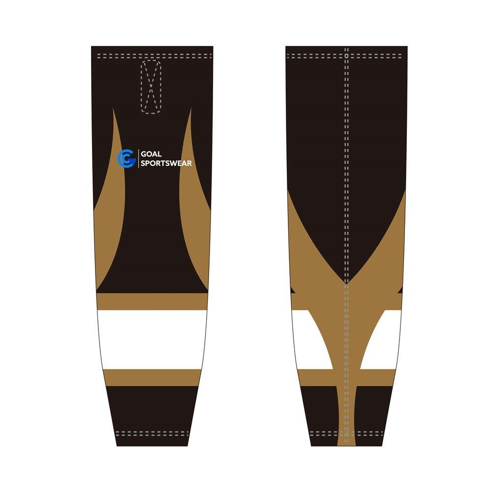 Dye sublimation printing Custom design youth hockey socks