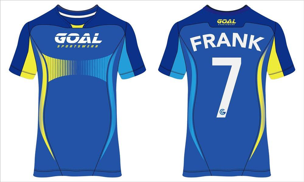 Dye sublimation printing Custom design youth soccer shirts