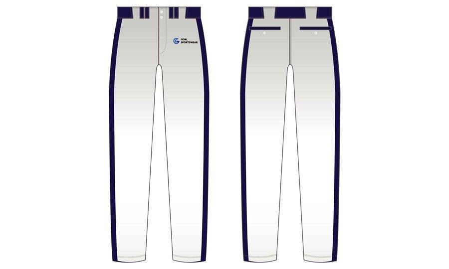 Dye sublimation printing Custom digital camo design Baseball Pants