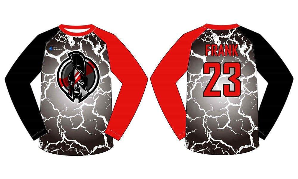 Dye sublimation printing custom design full polyester basketball shooting shirts