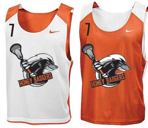 Lacrosse pinnies