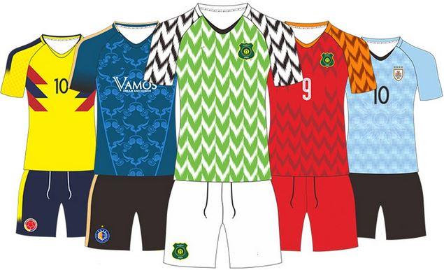 Reversible football team uniform
