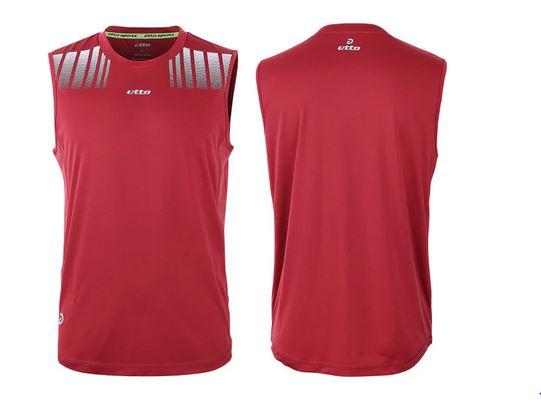 Sleeveless warm up jersey