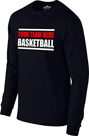 Basketball long sleeve warm up shirt