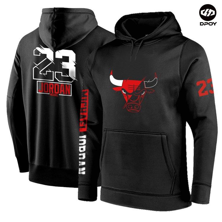 Black basketball hoodie