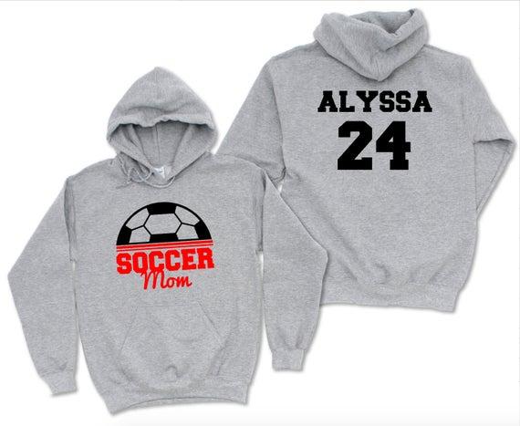 Custom soccer hoodie