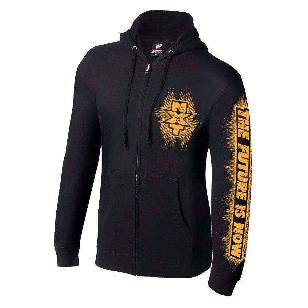 Wrestling hoodie with zip