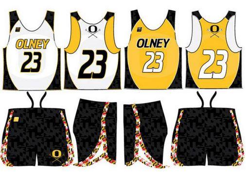 Reversible lacrosse uniform