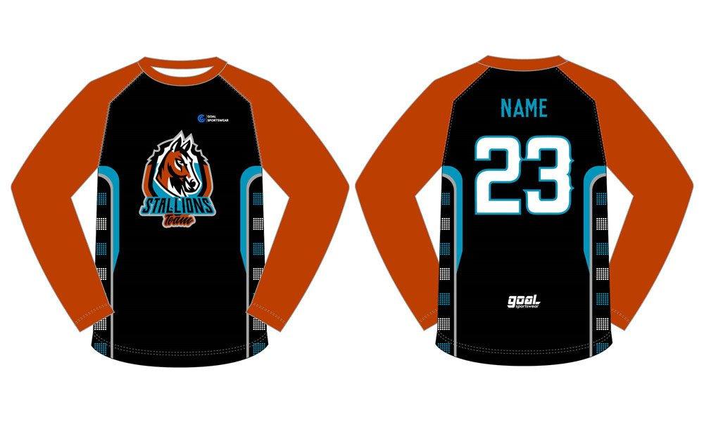 Full Sublimated custom made mens team basketball shooting shirts