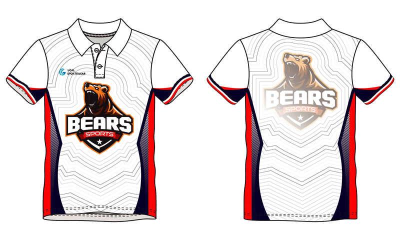 Full Sublimated custom made mens team bowling jerseys