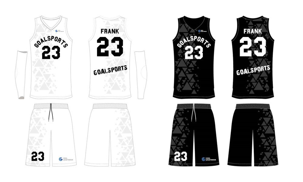 Full Sublimated custom made mens team reversible basketball jerseys