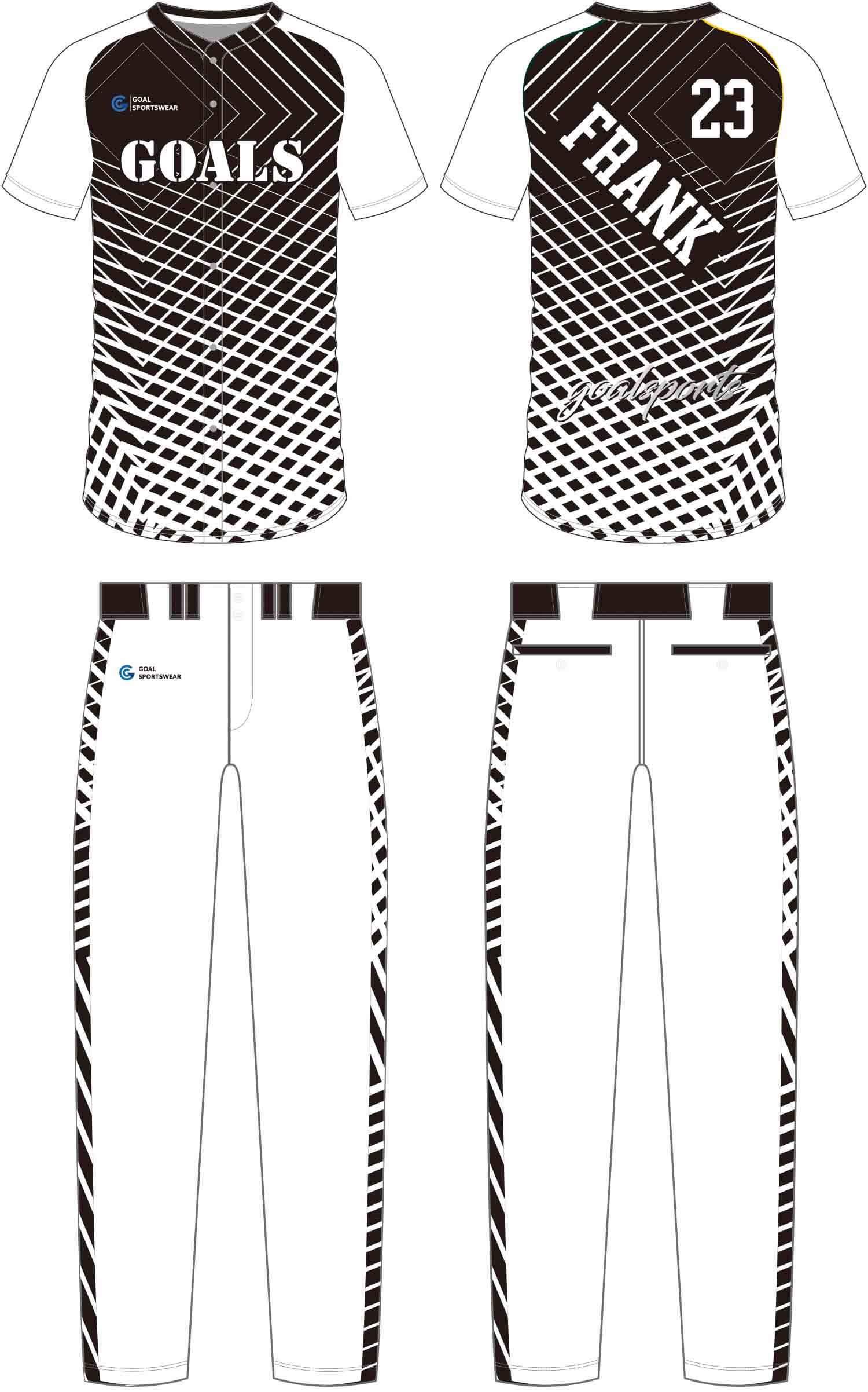 Full dye sublimation wholesale custom Baseball Pants