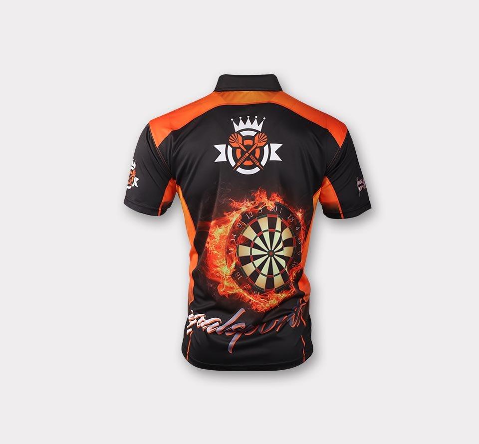 Full dye sublimation wholesale custom bowling jerseys