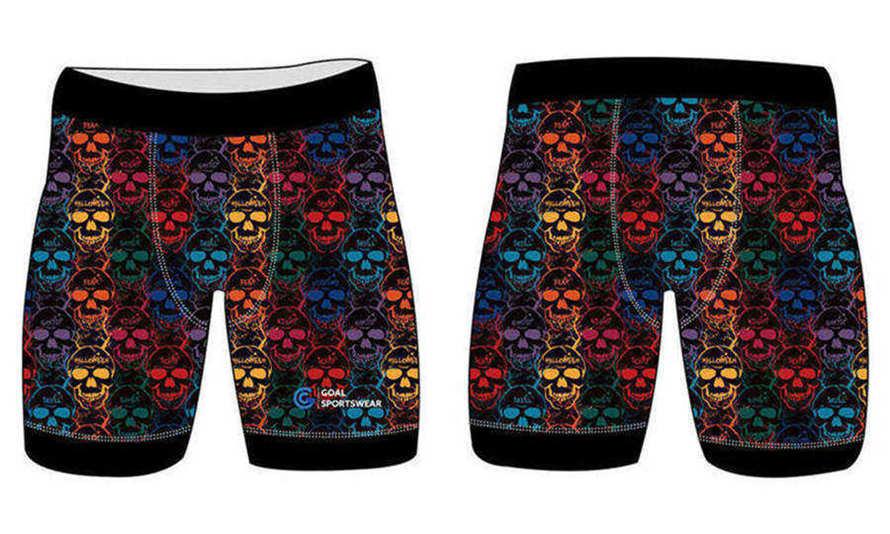 Full dye sublimation wholesale custom wrestling shorts