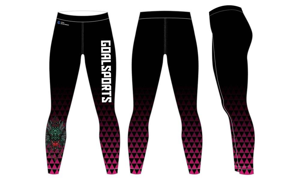 Full dye sublimation wholesale custom wrestling tights
