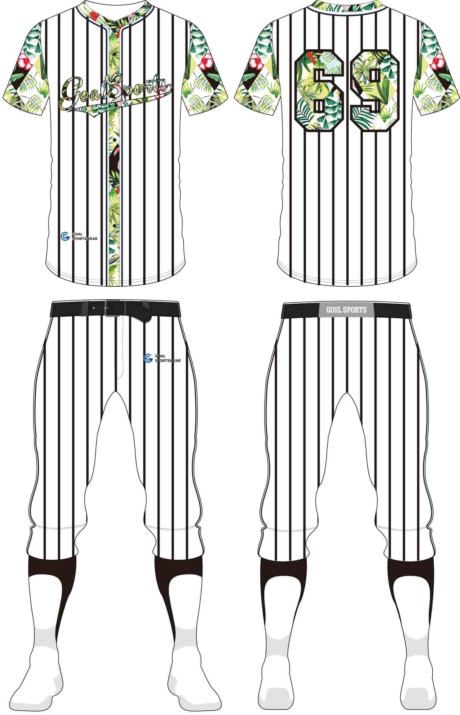 Full polyester Custom made durable mens team Baseball Pants