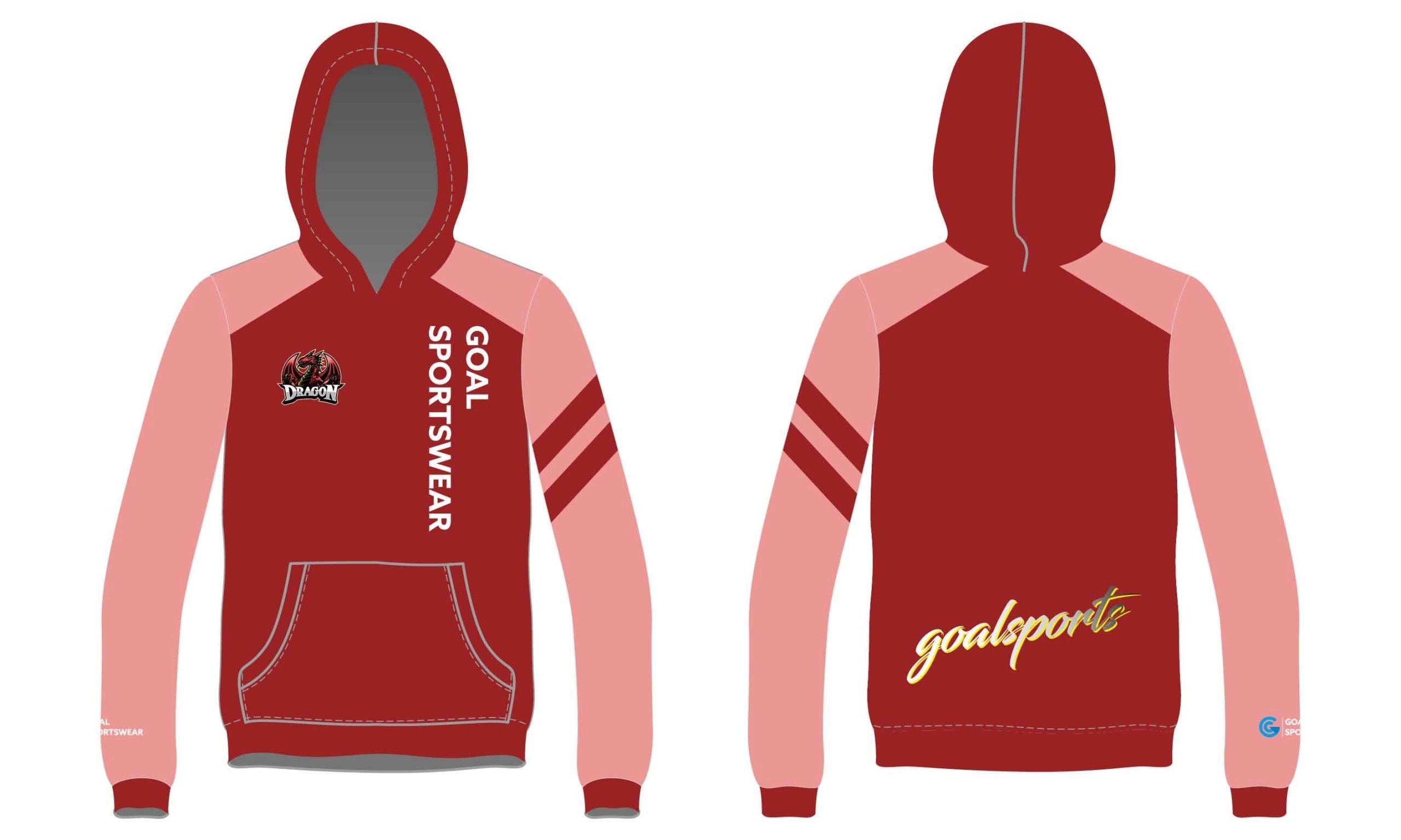 Full polyester Custom made durable mens team wrestling hoodies