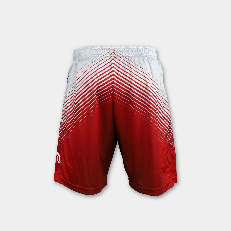 Full polyester breathable custom design sublimated basketball shorts