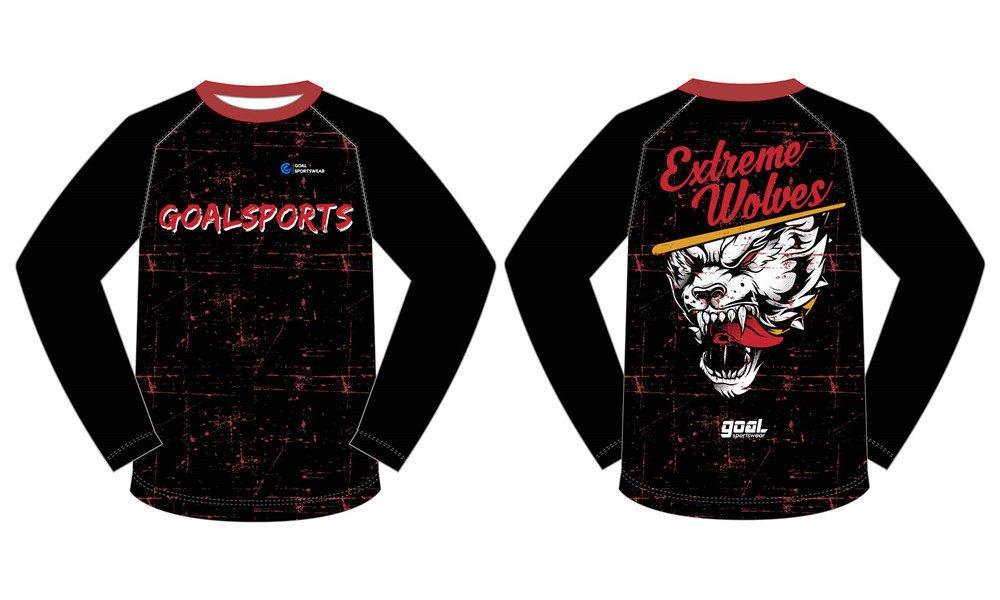High quality 100% polyester sublimation custom design basketball shooting shirts