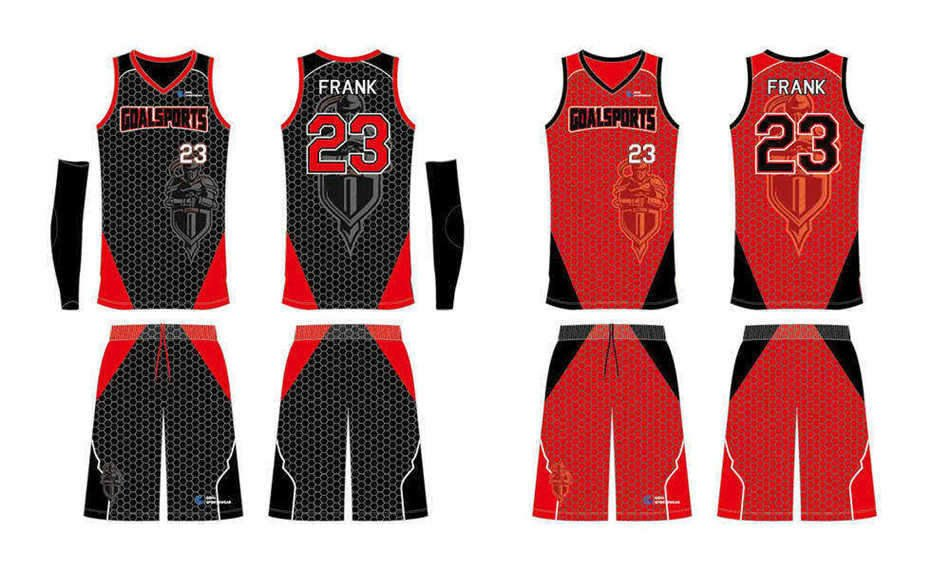 High quality 100% polyester sublimation custom design reversible basketball jerseys
