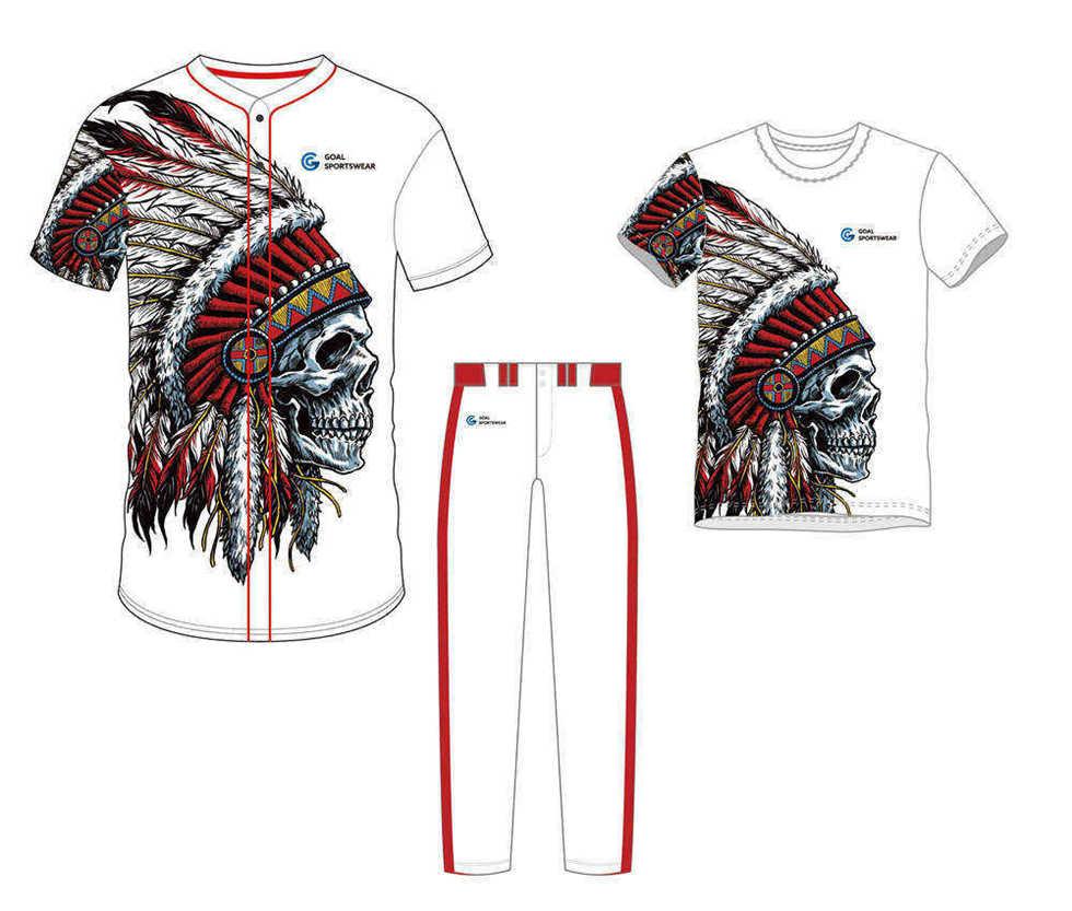 High school custom design sublimated reversible baseball uniform packages