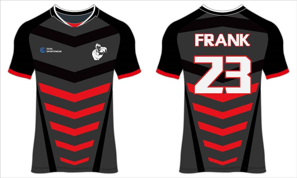 High school custom design sublimated reversible soccer shirts