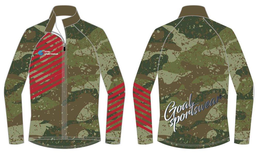 High school custom design sublimated reversible wrestling jackets