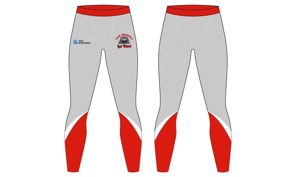 High school sublimation custom printed mma compression pants